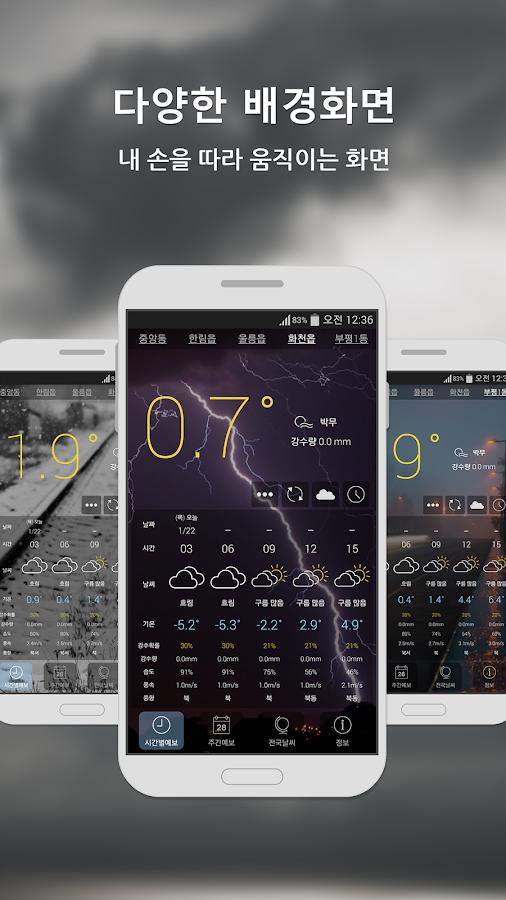 원기날씨 (기상청 날씨) - screenshot