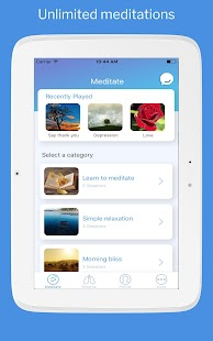 Trixie: Personal meditation and mindfulness coach- screenshot thumbnail