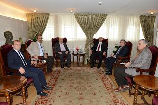 İstanbul Üniversitesi Rektörünü Ziyaret Ettik.