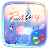 Rainy GO Launcher Theme