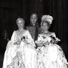 Photo: Neapel 1951, Adriana Lecouvreur.  Magda Olvero, Franco Corelli, Giulietta Siminonato. Foto: Sammlung Fritz Krammer