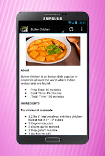 North indian recipes apps on google play screenshot image forumfinder Image collections