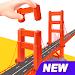 Pocket World 3D - Assemble models unique puzzle icon