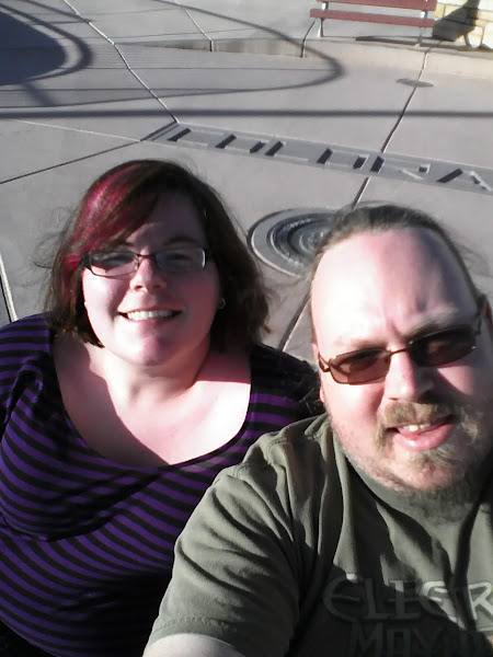 Photo: Both of us at Four Corners