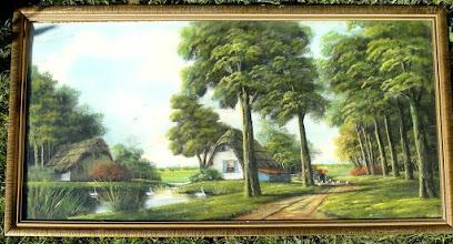 Photo: gekochte schilderij van J v Dalen