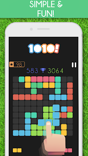 1010 Block Puzzle Game MOD (Purchased All Topics) 4