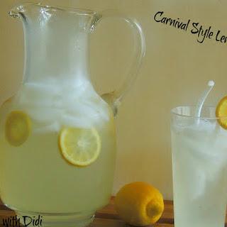 Carnival Style Lemonade