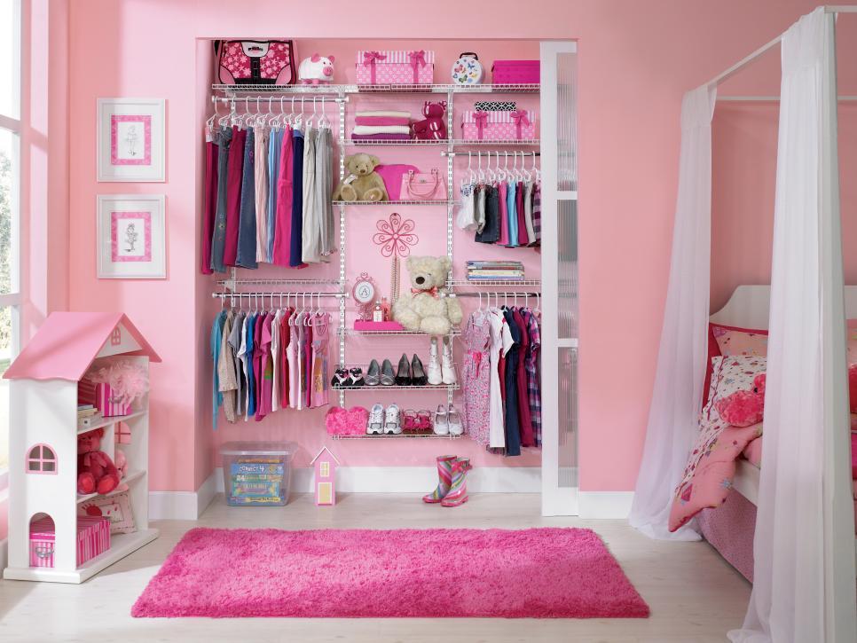 An Elegant Costume Closet girl bedroom ideas