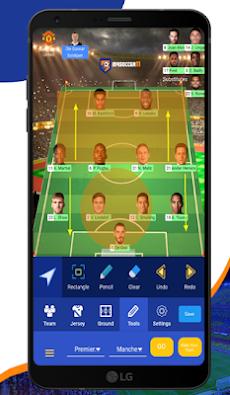 MYSOCCER11 - Football Lineup and Tactics Builder.のおすすめ画像5