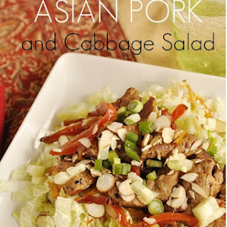 Asian Pork and Cabbage Salad.