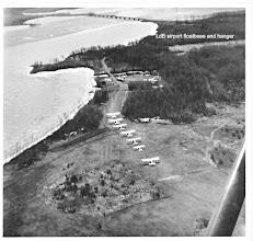 Photo: Lac du Bonnet Airport  and floatbase.