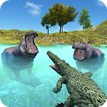 Wild Crocodile Attack Sim 2017 icon