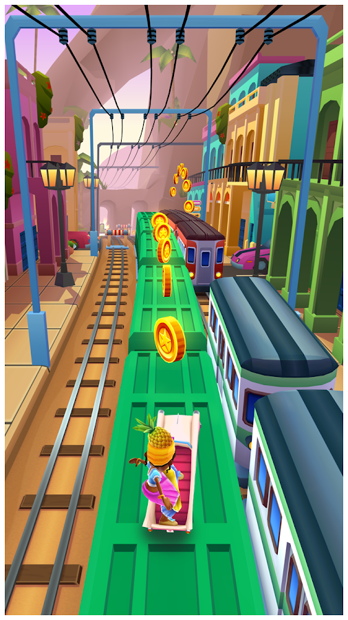 Subway Surfers – zrzut ekranu