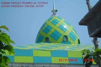 Photo: Kubah Masjid Al-Fitroh Ujung Pangka Gresik Jawa Timur