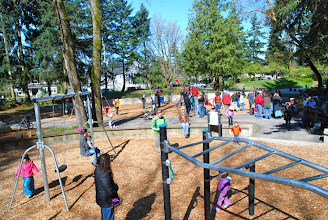 Photo: 2012 egg hunt and park playground and spray - 51