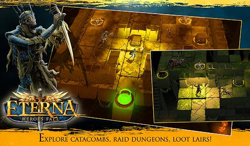 Eterna: Heroes Fall - Deep RPG 1.146 screenshots 15