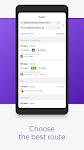 screenshot of Yandex.Transport