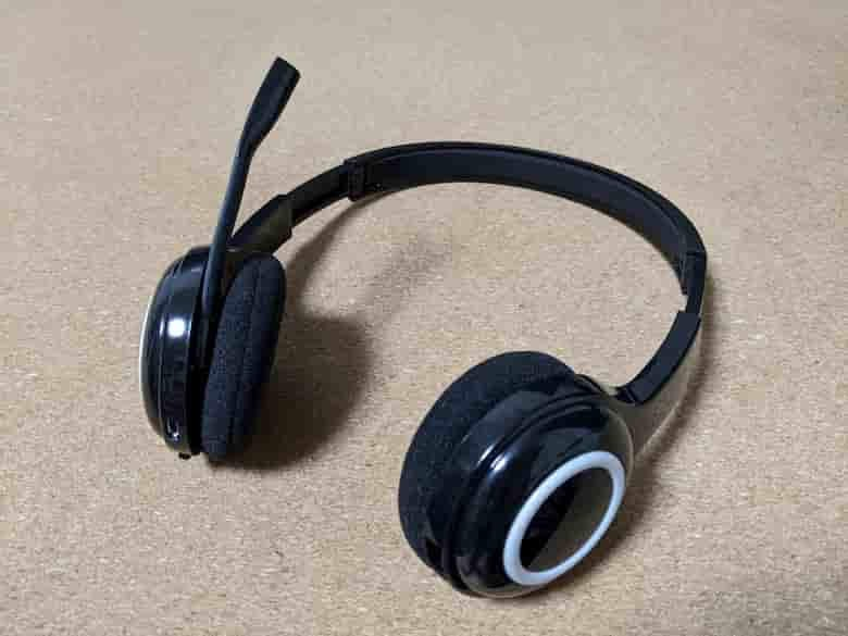 ロジクール ワイヤレス ヘッドセット H600 外観