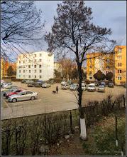 Photo: Calea Victoriei, imagine de la geamul meu - 2018.02.25