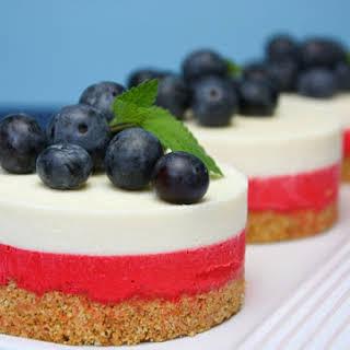 White Chocolate No-Bake Cheesecake.