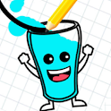 Funny Glass Draw Lines icon