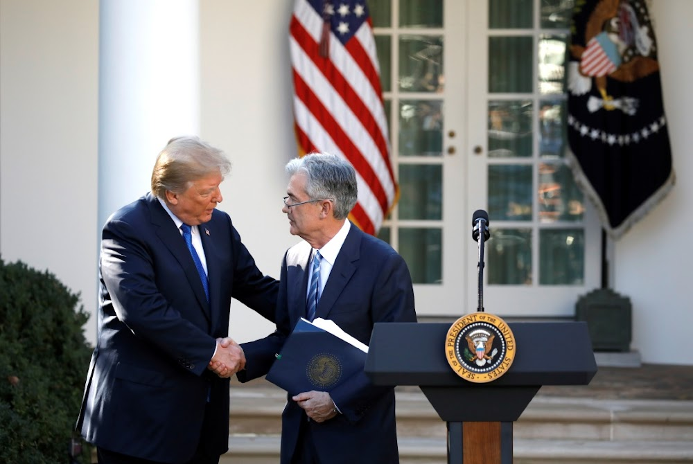 Fed chief Jerome Powell reasserts independence in talks with Trump