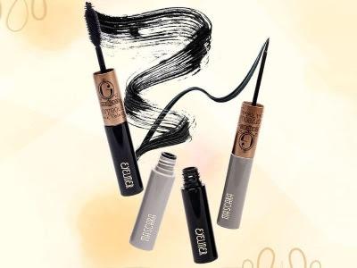 Mascara Eyeliner Madame Gie waterproof eye liner maskara 2in1 anti air lentik tebal mudah kering