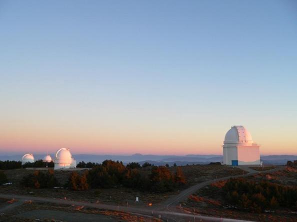 Panorámica del Observatorio Calar Alto.