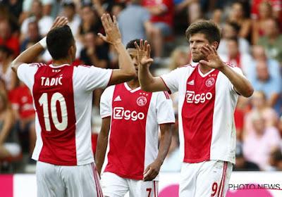 Ajax vecht zich naar overwinning tegen Groningen