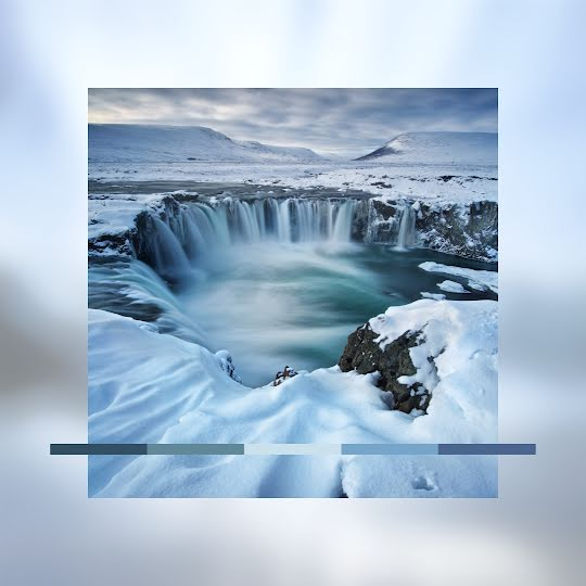 Winter Color Palette - Instagram Post Template