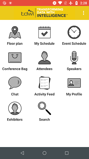 Screenshot for TDWI Events in United States Play Store