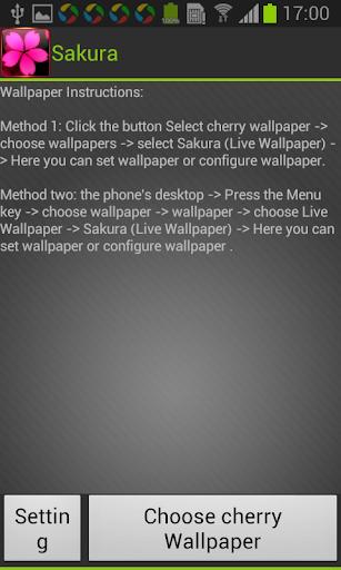 SakuraWallpaper