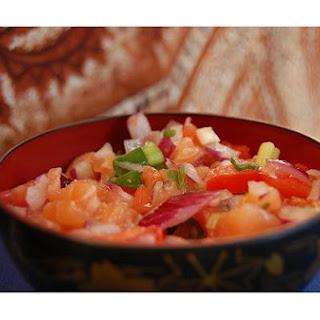 Lomi Lomi Salmon Recipe