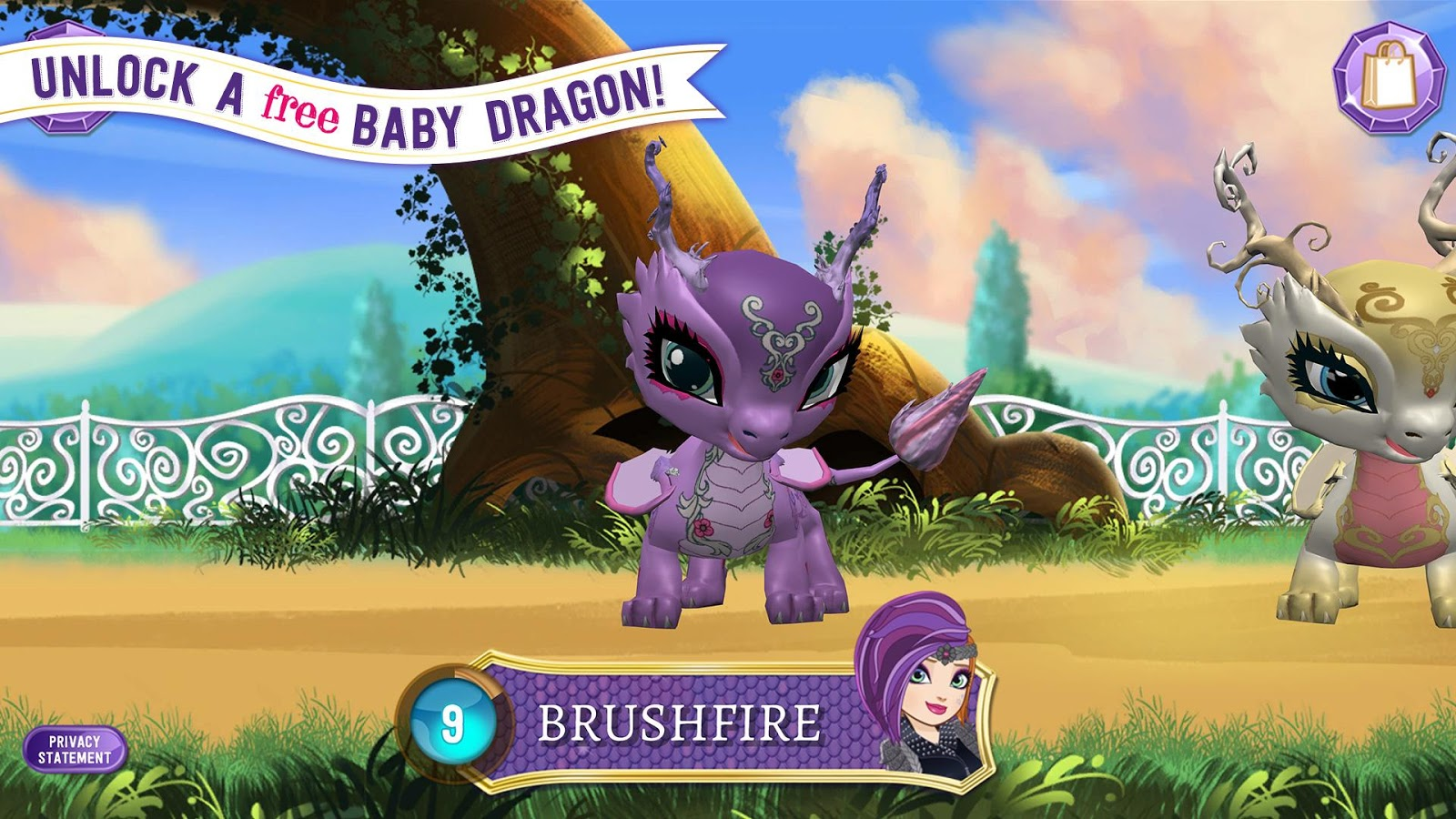 Ever after high coloring games online - Ever After High Baby Dragons Screenshot