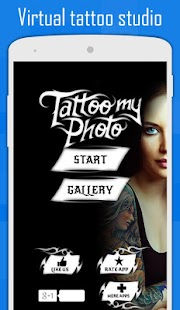 Tattoo my Photo 2.0 Screenshot
