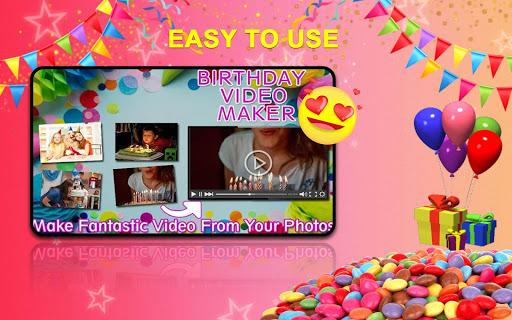 Birthday Greetings Video 2019 Photo Frame Screenshot 6