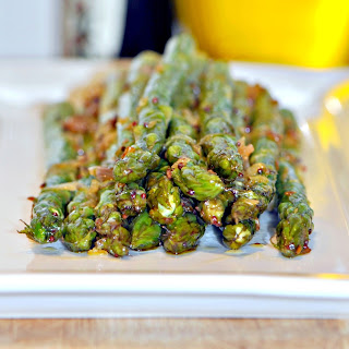 Indian Asparagus with Ginger & Lime.