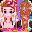 Wedding hairstyles game APK