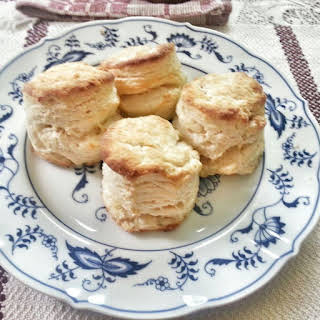 Flaky Southern Biscuits.