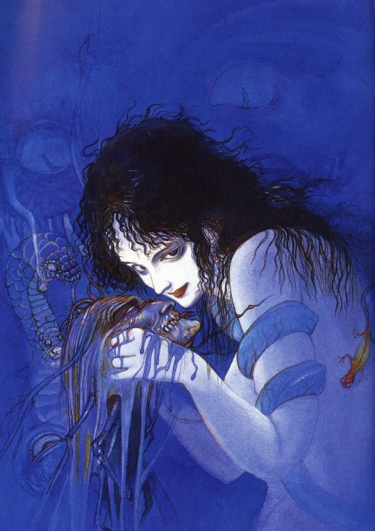 Yoshitaka Amano - Medusa