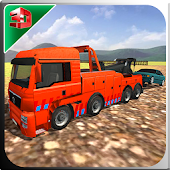 City Towing Truck Drive - Car Pull Police Duty Sim