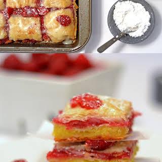 Raspberry Brownie Baklava.
