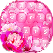 Pink flower emoji keyboard apps on google play pink flower emoji keyboard mightylinksfo