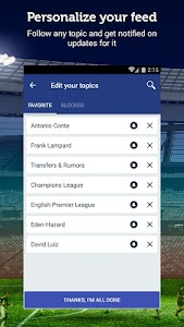 Chelsea News - Sportfusion screenshot 1