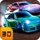 carreras en el coche: juegos de carreras de coches icon