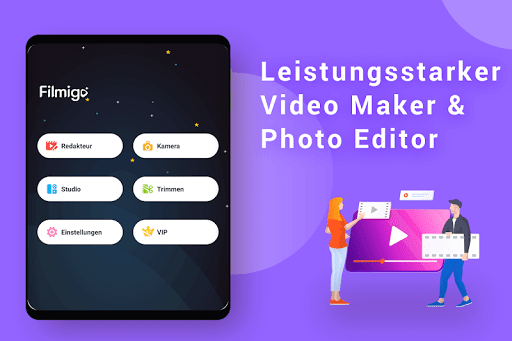 Video Maker von Fotos mit Music & Video Editor screenshot 11