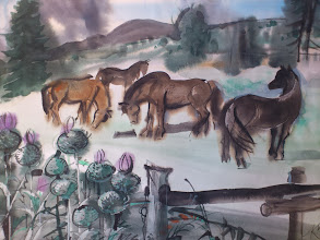 Photo: Ludvík Kunc -akvarel č. 20