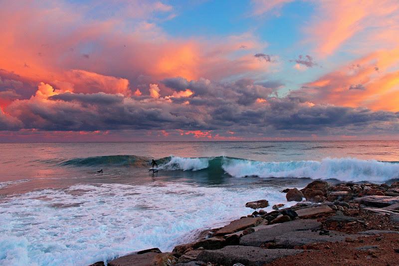 nuvole al tramonto di Naldina Fornasari
