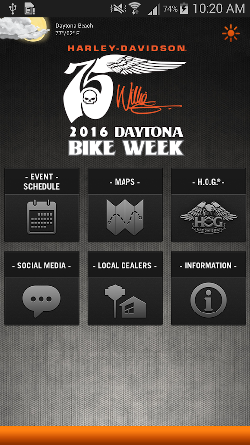 H-D Events: Daytona- screenshot
