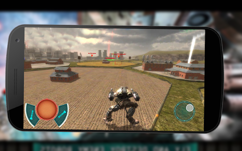 Robot Futuristic City Transform War Fighting Game - náhled